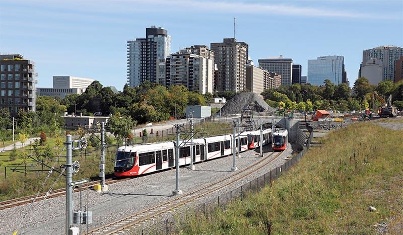 The OC Transpo Confederation Line Opens in Ottawa