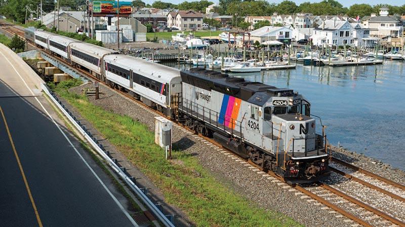 Railfanning the North Jersey Coast Line