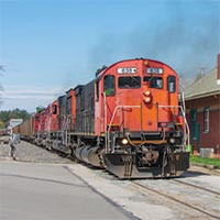 "Western New York & Pennsylvania ""Big Sixes"" Strut East From  Meadville to  Salamanca"