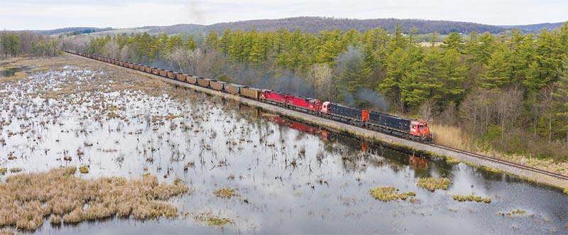 "Western New York & Pennsylvania ""BigSixes"" Strut East From  Meadville to  Salamanca"