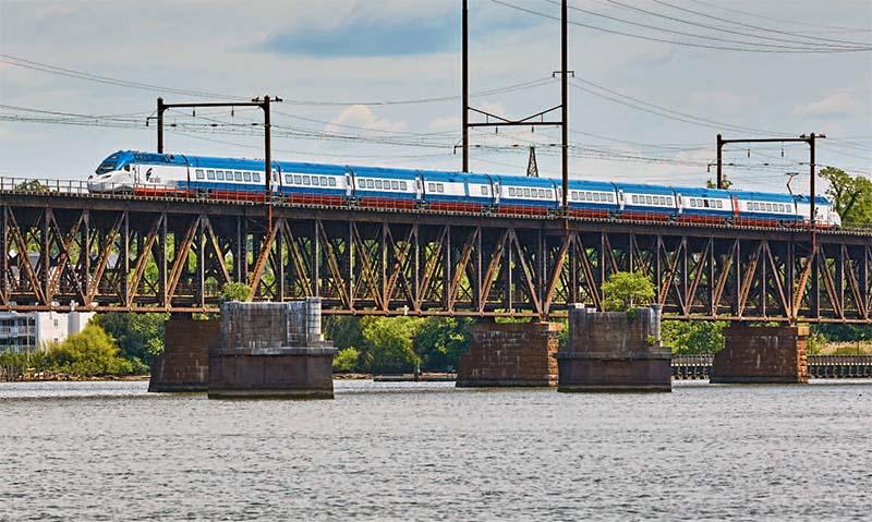 Amtrak Acela 21 Dynamic Testing Begins