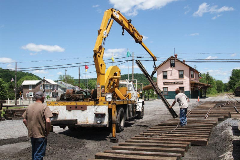 Restoration Work Progresses at East Broad Top Railroad