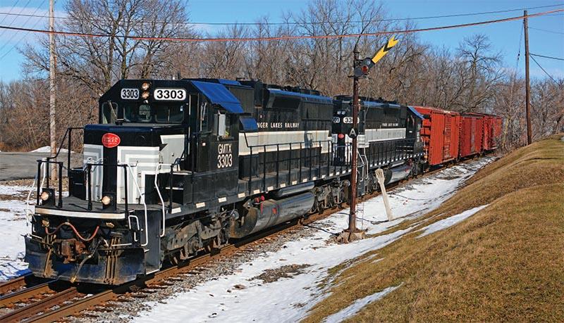 Railfanning Finger Lakes Railway's Geneva-Solvay Job