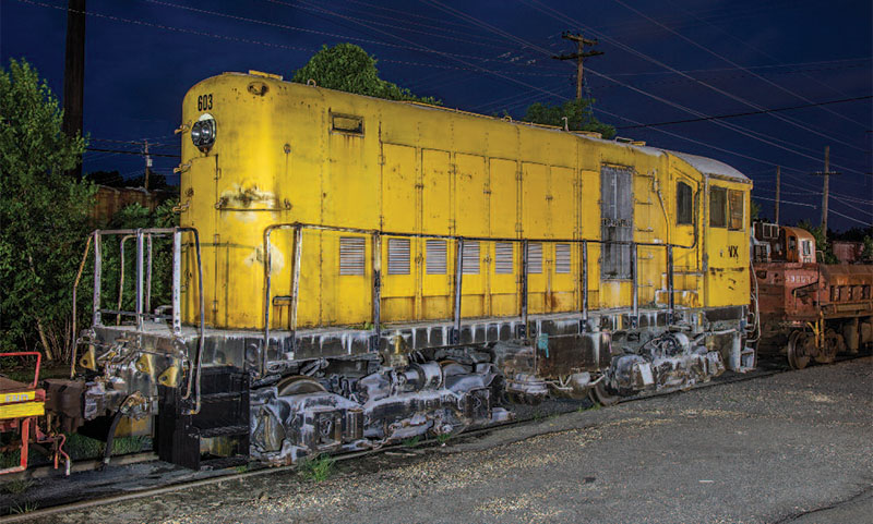 Lackawanna Alco HH660 409 Acquired by Genesee Valley Transportation