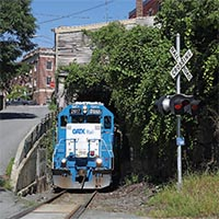 Vermont Railway Detours Over New England Central