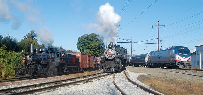 Steam Strikes Back! Strasburg Rail Road Celebrates 60 Years