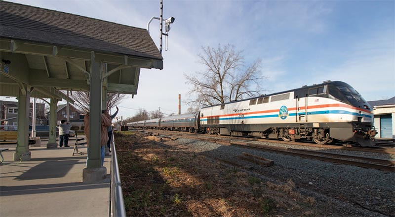 Fairport, N.Y., Debuts Train Viewing Pavilion