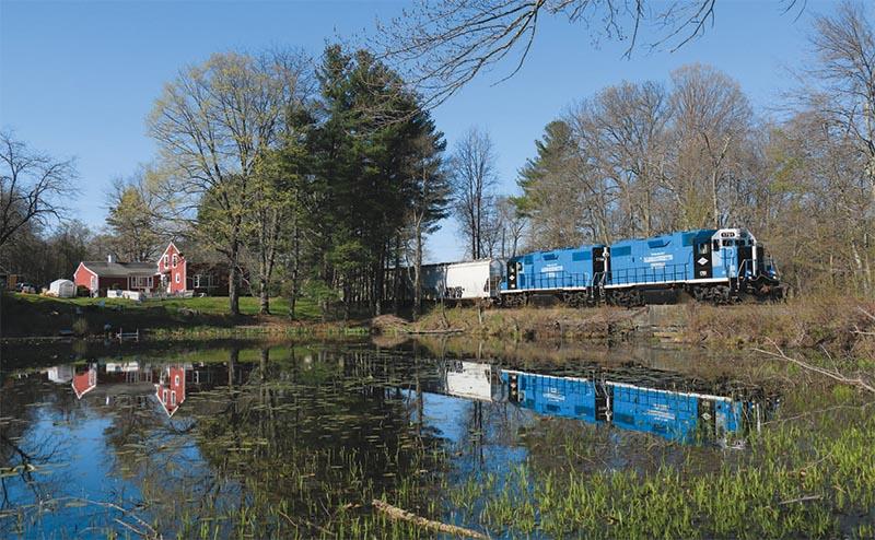 Railfanning the Massachusetts Central Railroad