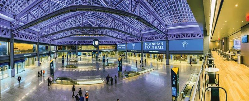 Moynihan Train Hall Debuts in Manhattan