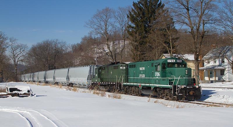 Winter on the Youngstown & Southeastern Railroad