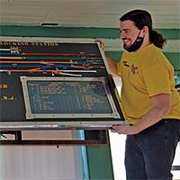 WaldwickTower Model Board Restoration