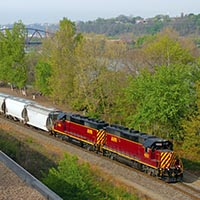 Allegheny Valley Railroad Saturday Morning Sand Extra