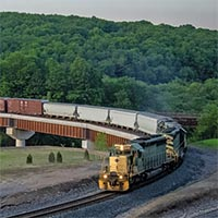 America's Freight Train: Reading &Northern's NRFF FastFreight: Part 1