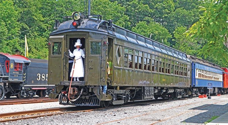 Restoration of Delaware, Lackawanna & Western Subscription Club Car No. 2454